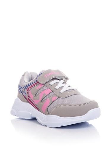 Tonny Black Buz Pudra Çocuk Spor Ayakkabı Tbz14  Mavi